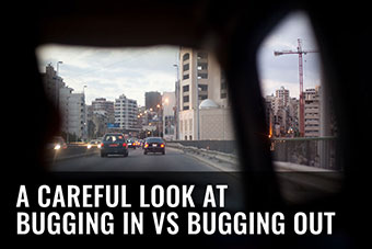 bug out or bug advantages and disadvantages