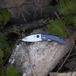 Spyderco Lum Chinese Folder Nishijin Glass Fiber Knife Review