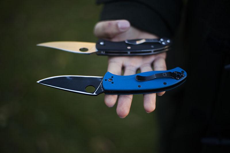 survival gear spyderco tenacious edc knife