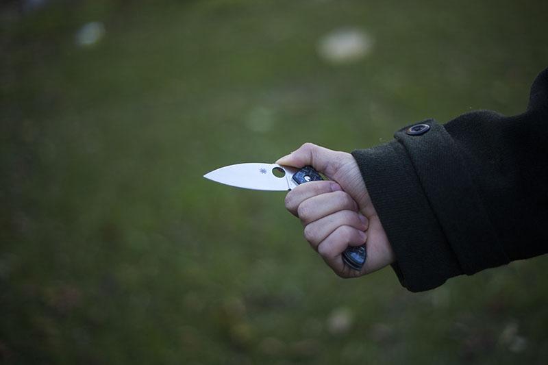 gentleman's knife or woman's knife spyderco
