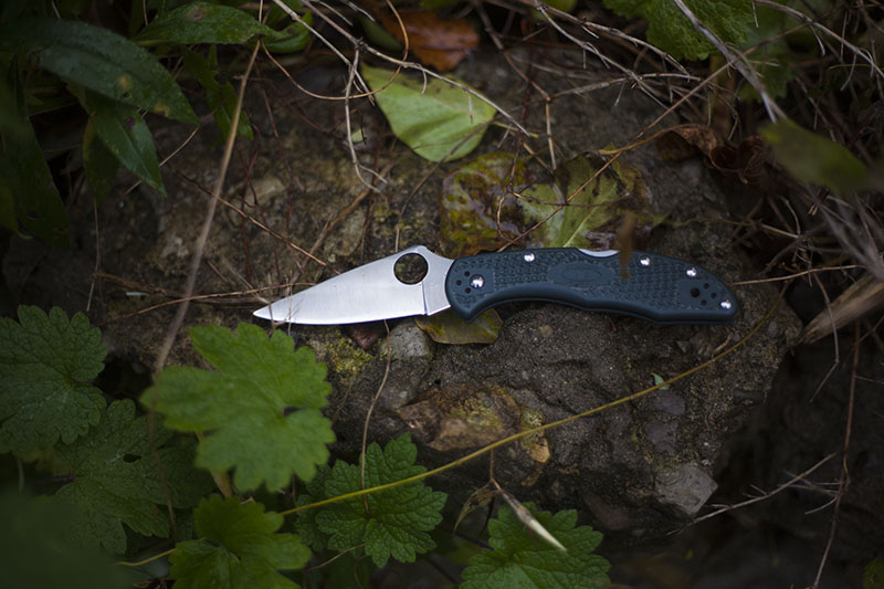 spyderco delica 4 survival blog review