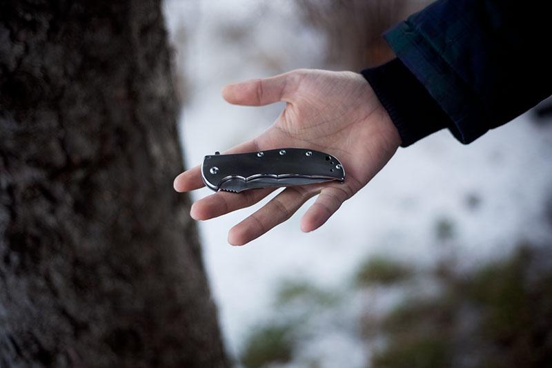 survival blog knife review kershaw volt ss folder