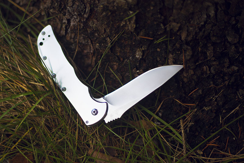 kershaw volt assisted flipper survival blog knife review