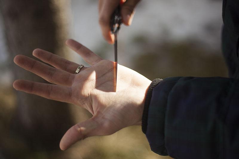 folding fish fillet knife crkt