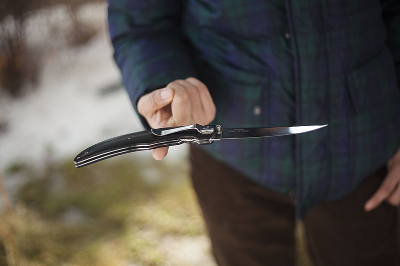 fish folding filleting knife crkt