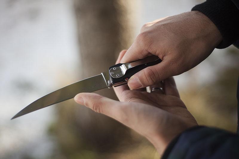 filleting knife folder edc