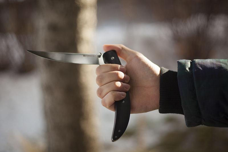 edc folding fillet knife pocket