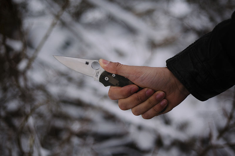 paramilitary2 spyderco knife review