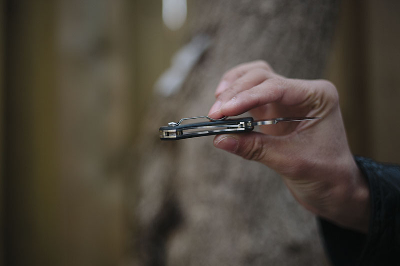 collection piece spyderco balance carbon fiber