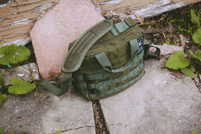 escape and evade bag military green tactical