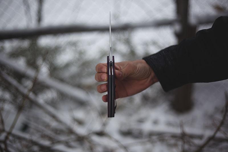custom handle 1950 kershaw tremor survival blog review