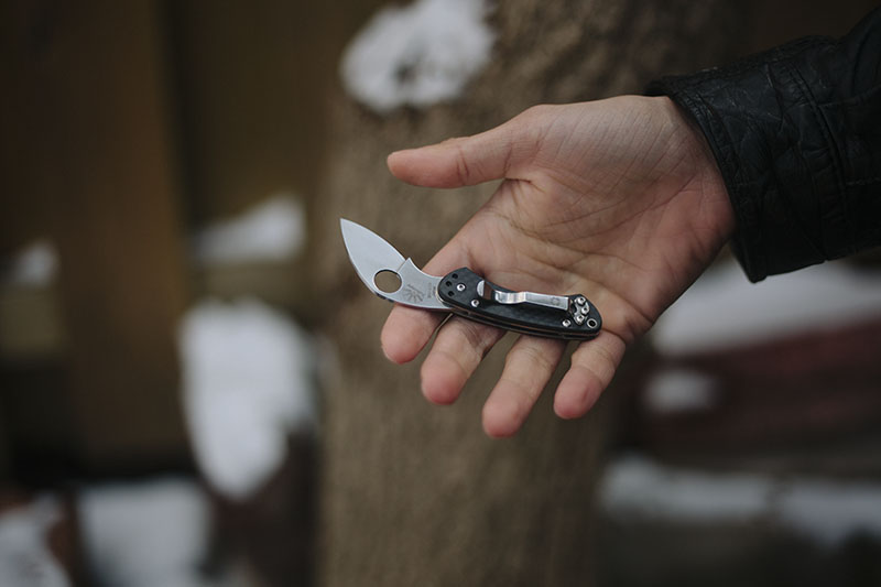 smallest spyderco with clip balance