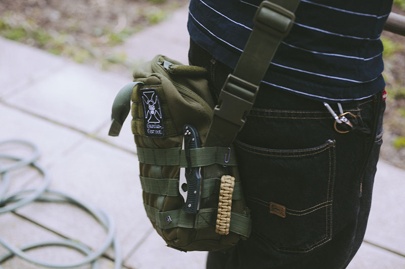 condor tactical survival bag edc escape and evasion