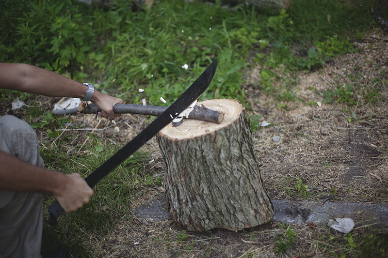 wilderess survival bushcraft blog review cold steel machete