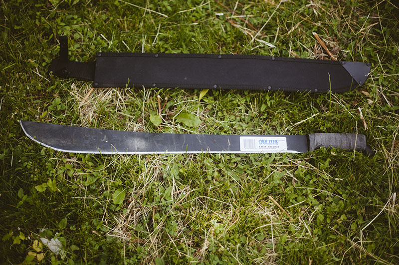 prepper blog review cold steel machete latin 24 inch