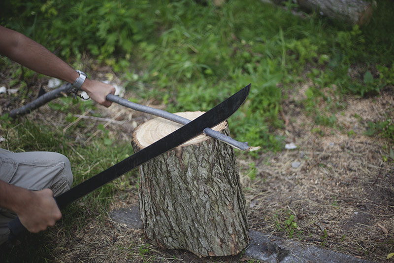 fixed blade machete outdoor bushcraft review