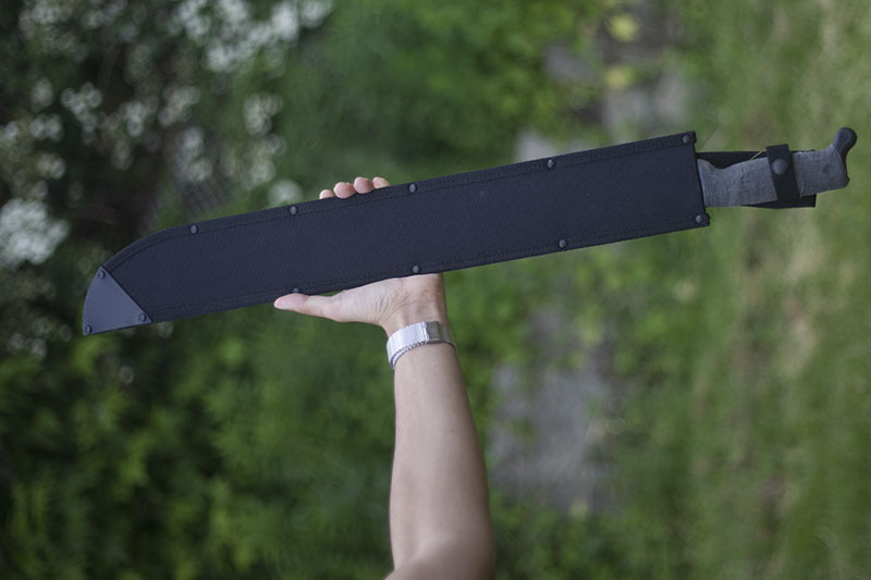survival blog cold steel machete review