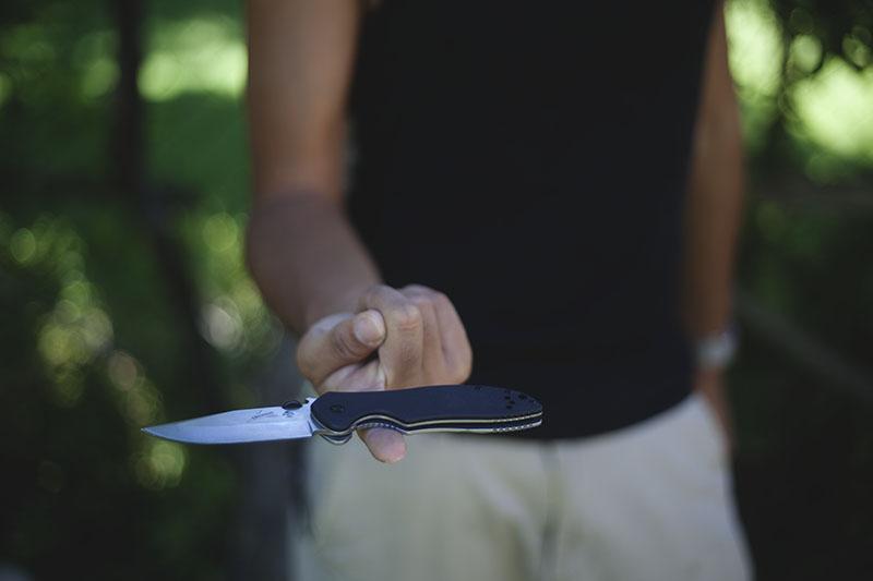 emerson kershaw cqc-6k knife review folding edc