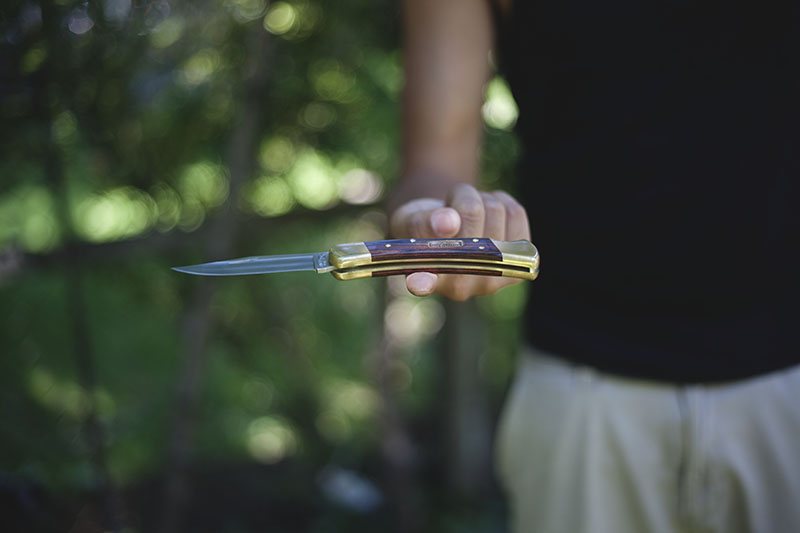 survival blog review buck 110 edc knife