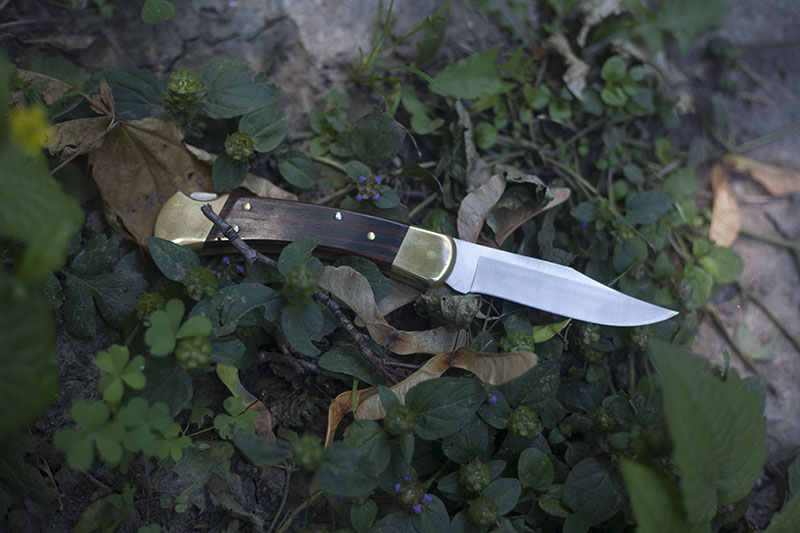 classic everyday carry folding knife buck 110 review