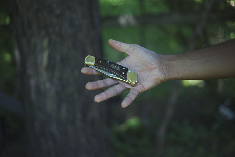 buck 110 classic everyday carry knife review