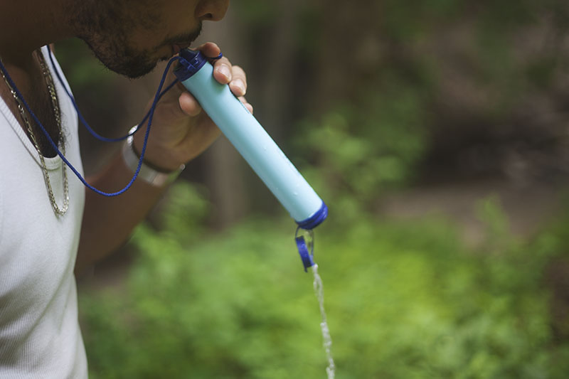 how to use lifestraw personal water system