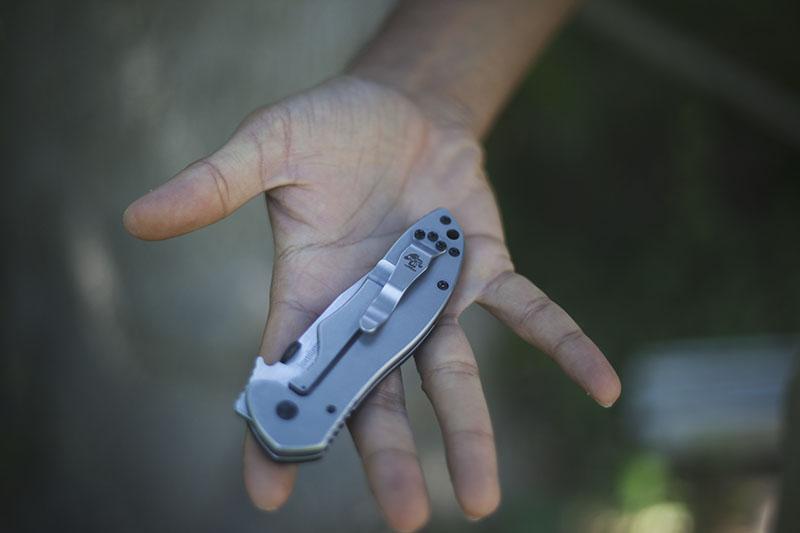emerson kershaw knife edc everyday carry folder cqc-6k
