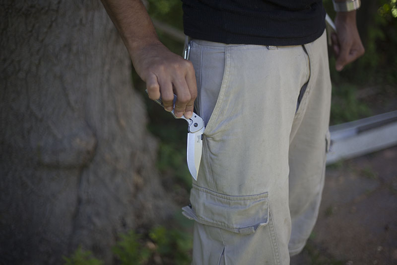 popular emerson kershaw collaboration knife cqc-6k folding edc