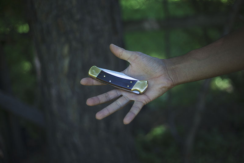 survival blog hunting knife buck 110 review