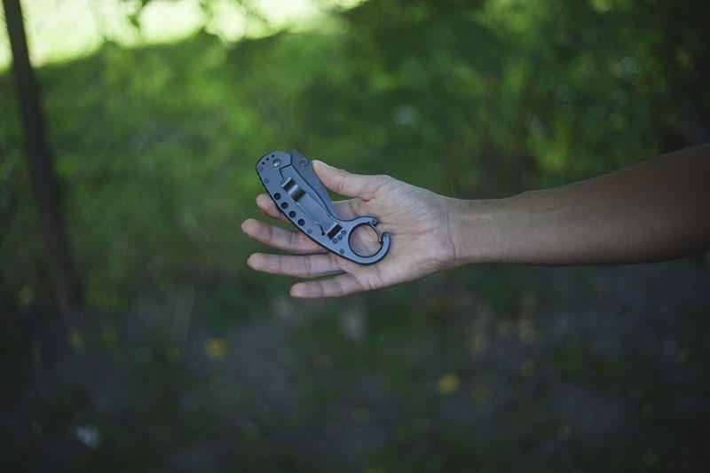 boker plus tactical folding knife karambit review