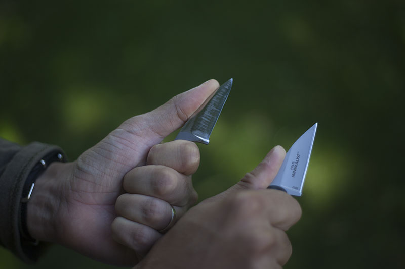 discreet carry edc neck knife crkt minimalist review mtjsblog