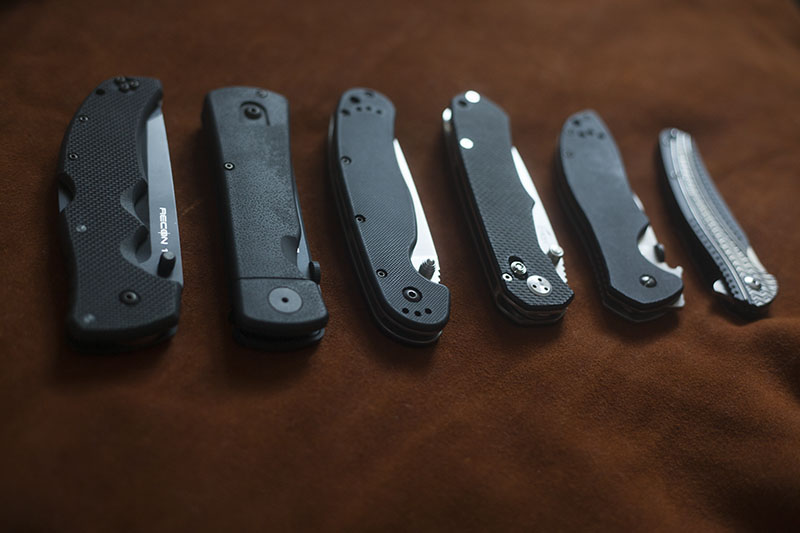 survival blog knife collection feature