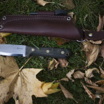 L.T. Wright Genesis Black Handled Bushcraft Knife Review