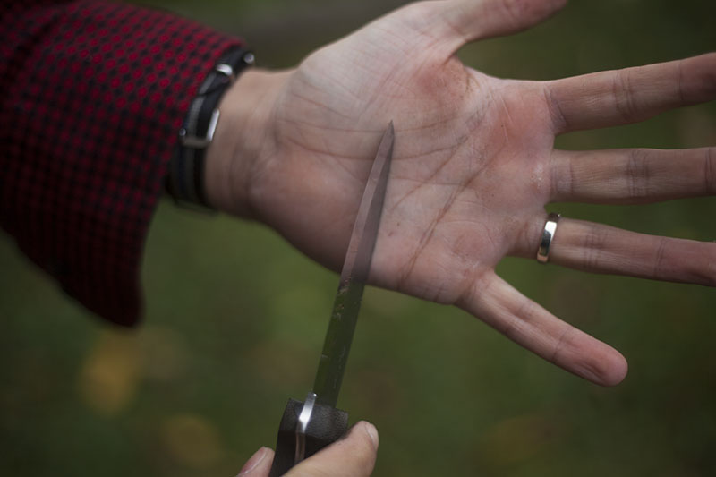 survival bushcraft blog review l.t. wright genesis fixed blade knife
