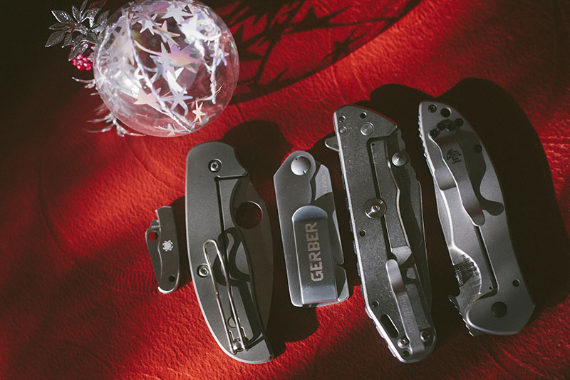 christmas happy holidays knives