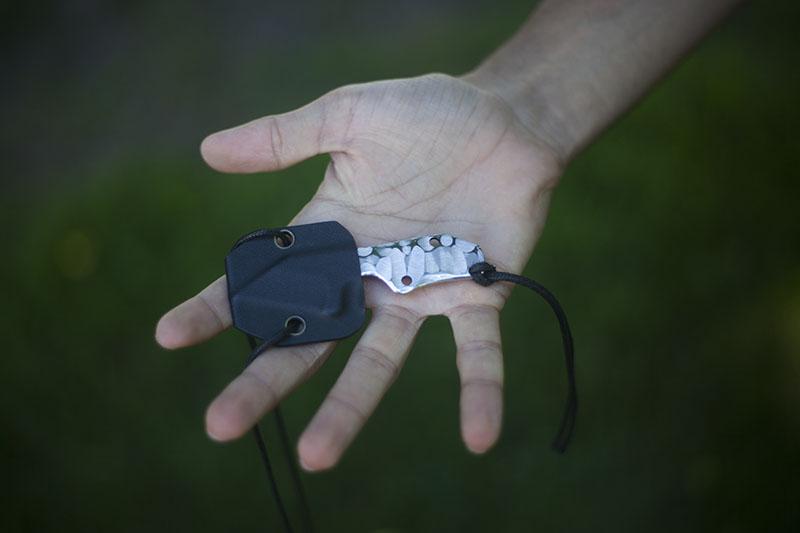 boker plus neck knife review clb microcom modification