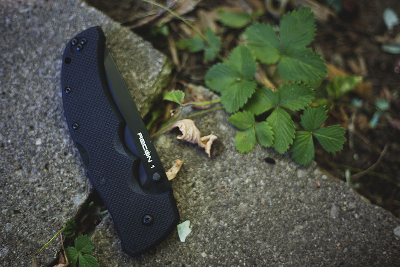 survival blog review cold steel tactical folder recon 1 tanto blade