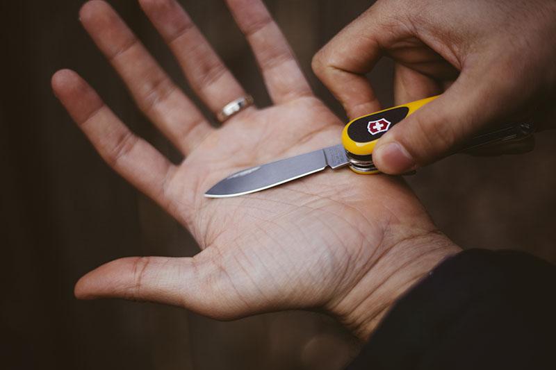 modern victorinox classic twist swiss army knife evogrip s18