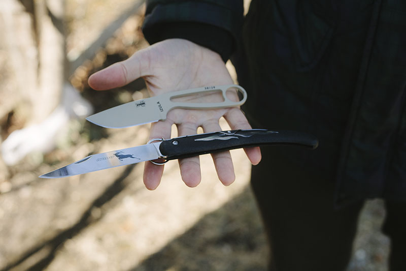 survival knife gear cold steel kudu review large cheap edc