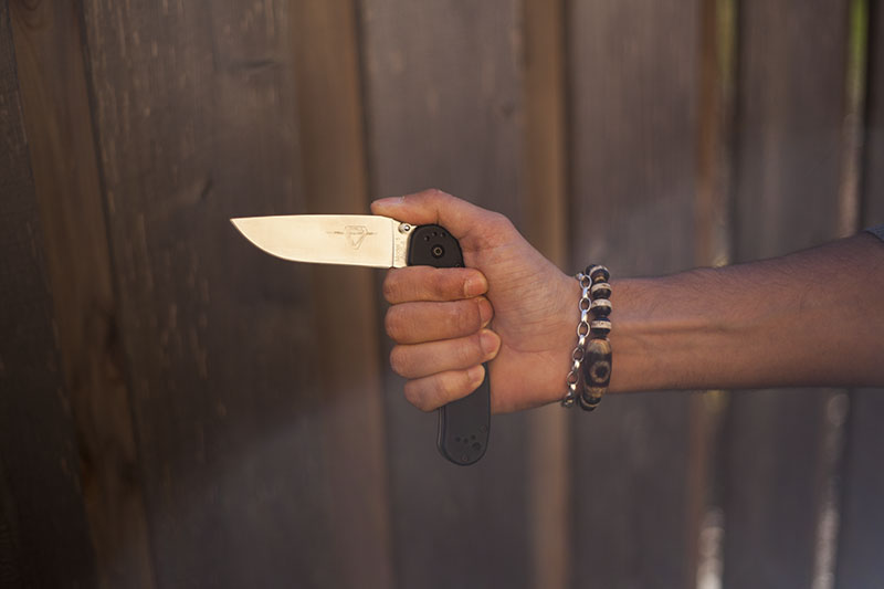 best everyday carry beater knife ontario rat 1 review survival blog