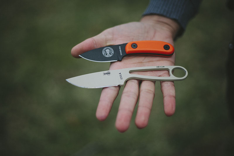 everyday carry backup bushcraft knife small edc esee candiru review
