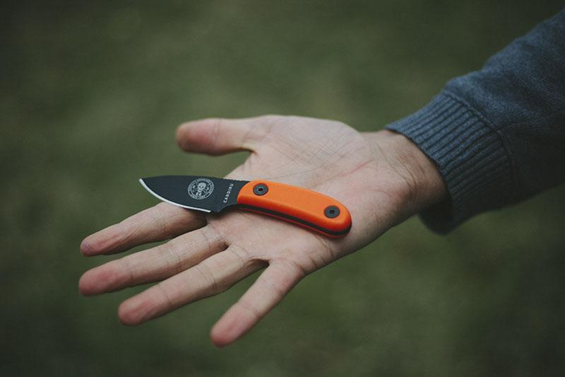survival blog esee candiru review little bushcraft knife edc
