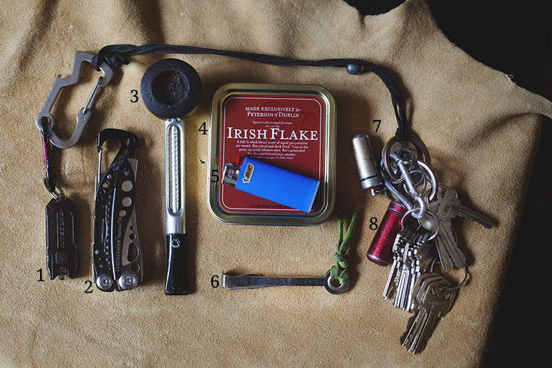 september everyday carry pocket dump edc