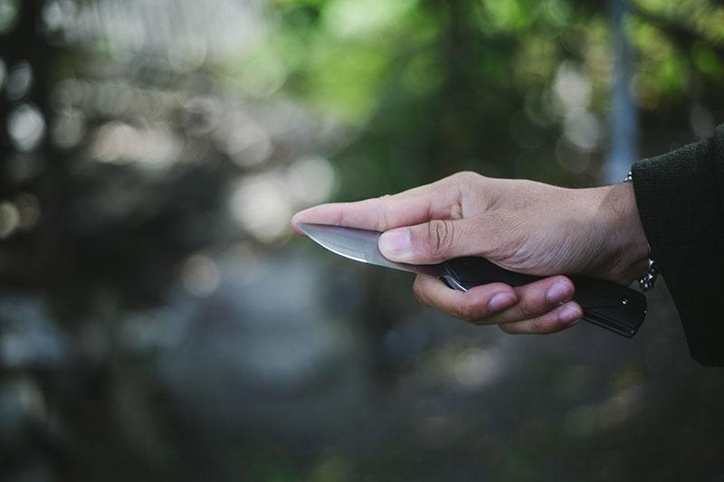 survival blog gear review buck vantage folding flipper pocket knife
