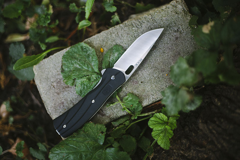 everyday carry pocket knife review buck vantage select large 345 edc