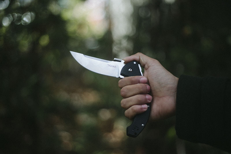 everyday carry tactical knife review cold steel talwar pocket edc