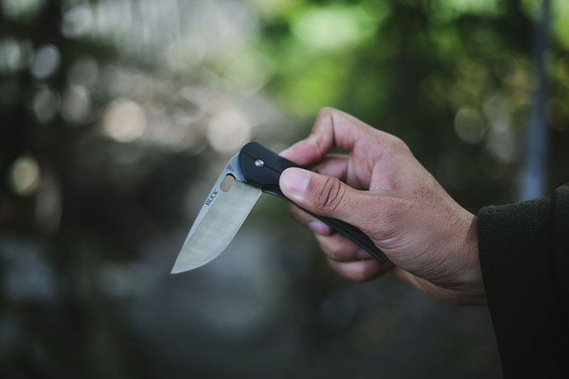 survival gear review buck vantage 345 prepper blog pocket knife