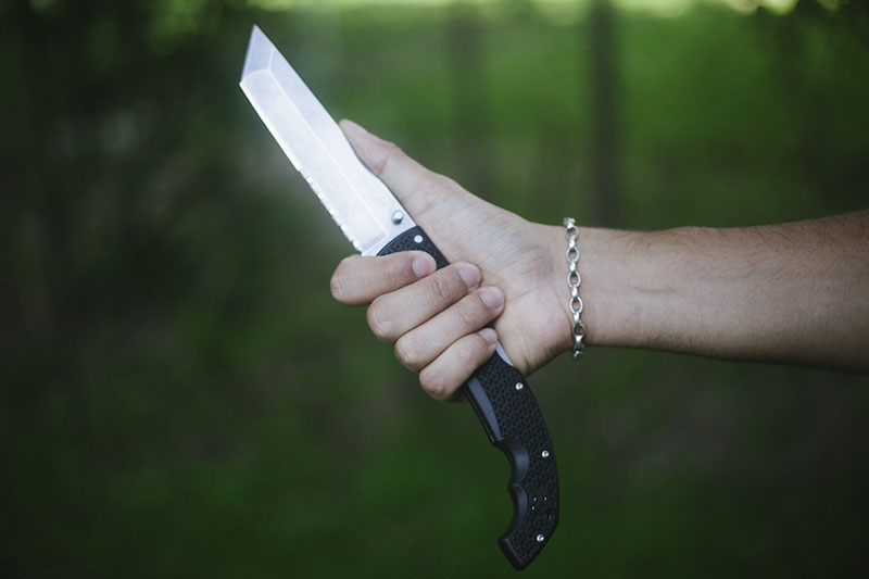 extra large folding knife cold steel tanto voyager xl review