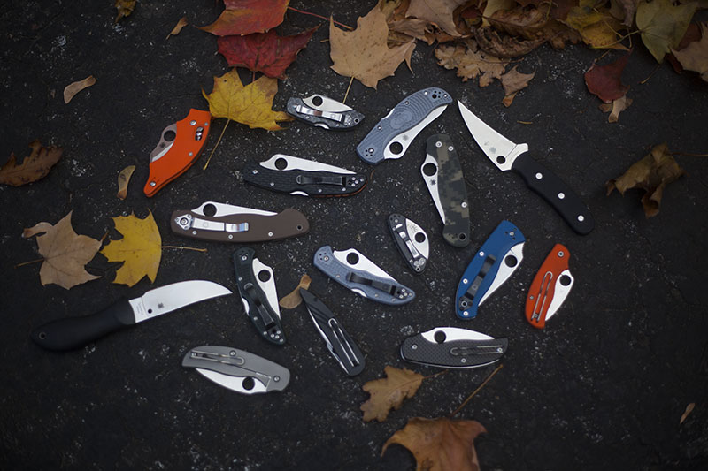 best spyderco knife list folding and fixed blade survival blog