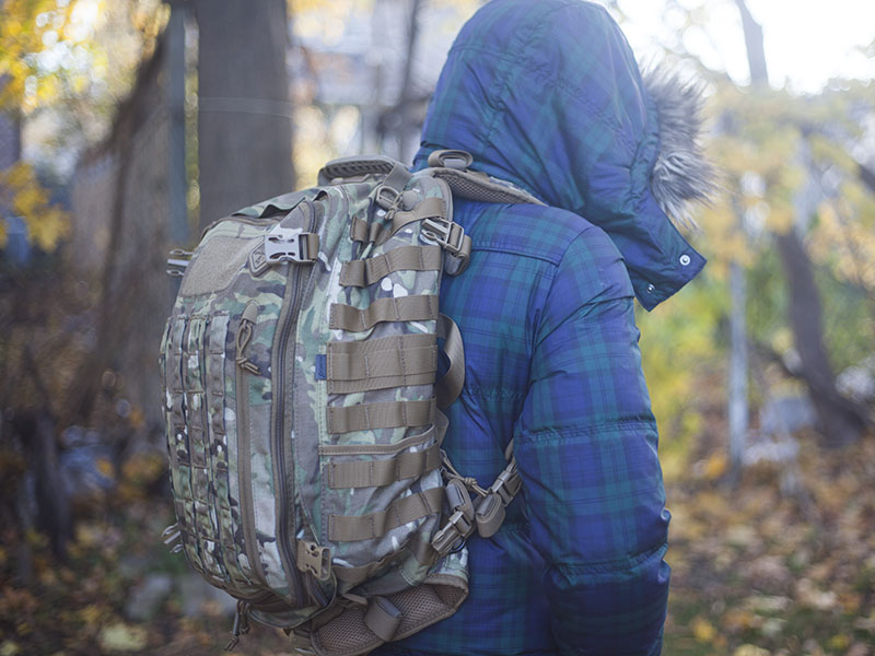 molle pack survival gear review hazard 4 officer bag